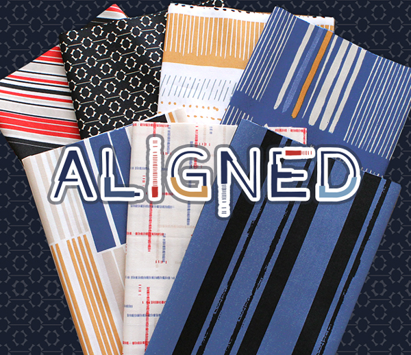 Art Gallery Fabrics Aligned Collection by AGF Studio