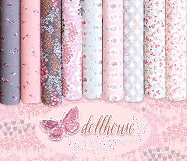 Art Gallery Fabrics Dollhouse Collection by Amy Sinibaldi