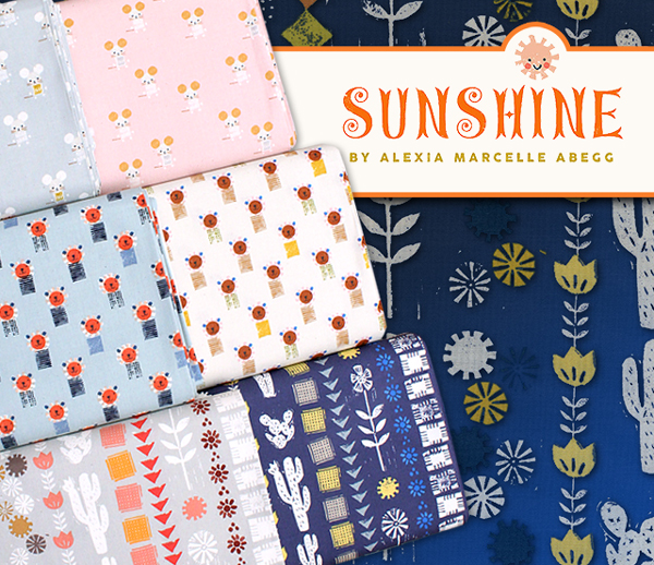 COTTON+STEEL Sunshine Collection