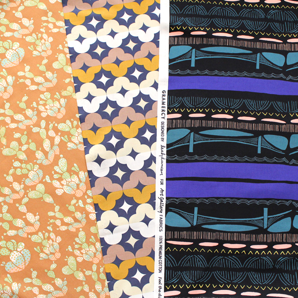 Art Gallery Fabrics 3柄入荷 METERS