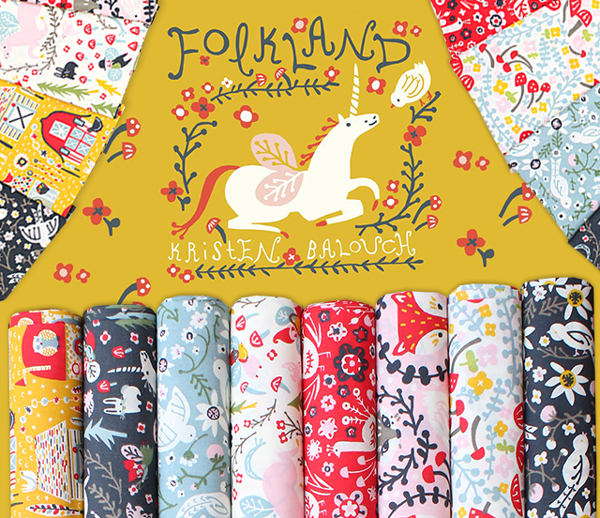 Birch Fabrics Folkland Collection
