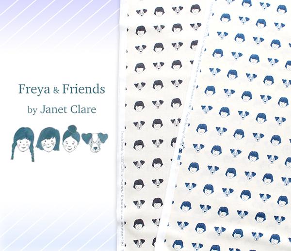 Moda Fabrics Freya and Friends