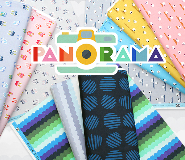 COTTON+STEEL Panorama Collection