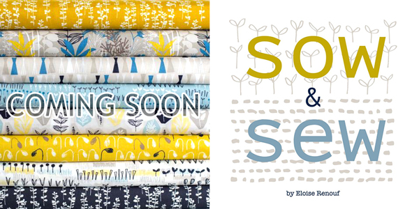 Cloud9 Fabrics Sow and Sew Collection