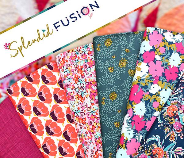 Art Gallery Fabrics Splendid Fusion Collection