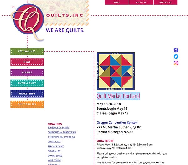 Quilt Market Portland
