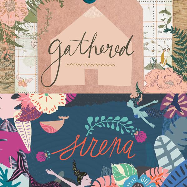 Art Gallery Fabrics Gathered & Sirena