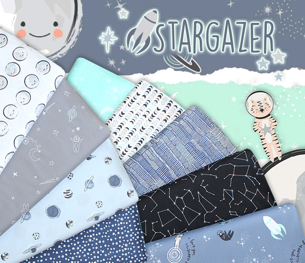 Art Gallery Fabrics Stargazer Collection by AGF Studio