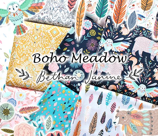 Dashwood Studio Boho Meadow Collection by Bethan Janine