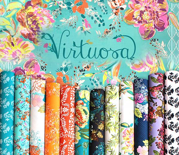 Art Gallery Fabrics Virtuosa Collection by Bari J.