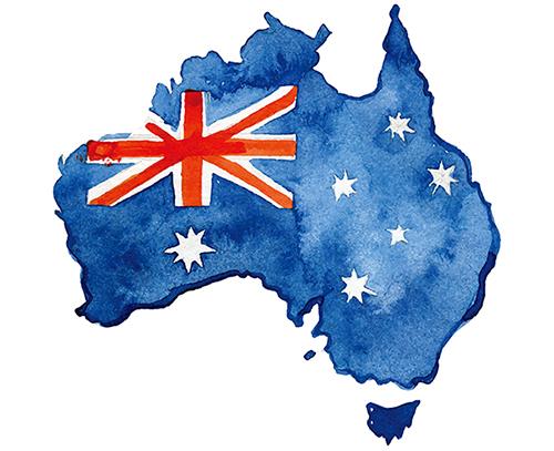 オーストラリアの生地
