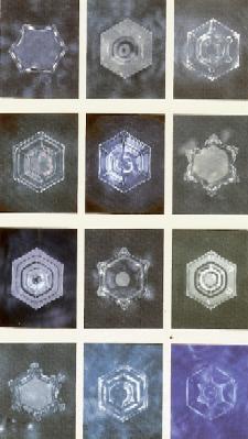 六角水の結晶