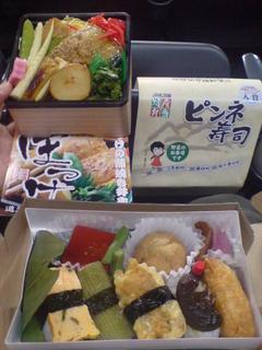 札幌ドームで昼食