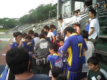 試合後のファンサービス