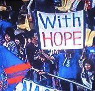 希望を胸に