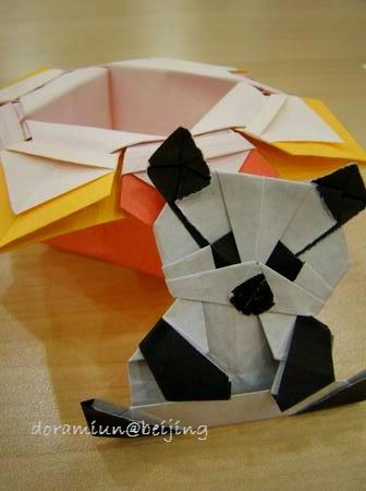 クリスマス 折り紙 パンダ 折り紙 : doramiun.jugem.jp