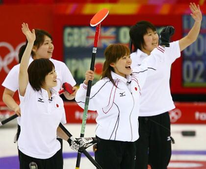 トリノ五輪カーリング女子日本代表