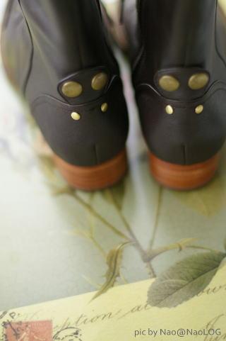秋のブーツ