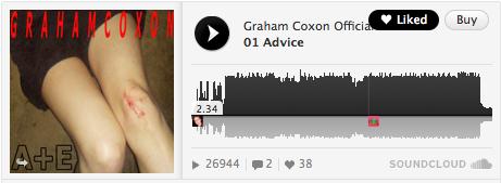 Graham Coxon「A+E」
