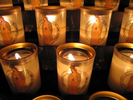 ノートルダムの蝋燭