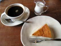 オーガニックコーヒー&有機バナナチーズケーキ