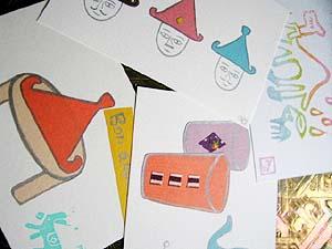 手作りポストカード