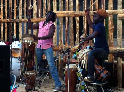セネガルの太鼓