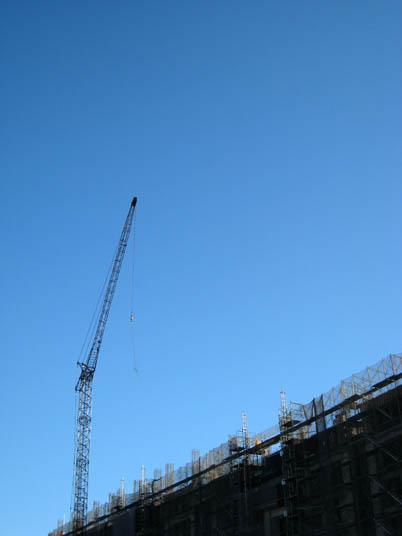 50tクローラータワークレーン ブーム39m・ジブ25m