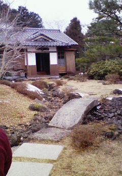 丸山敏雄先生が実際に住んでいた家です。