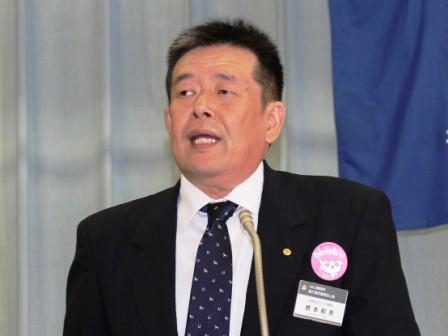 橋本新会長挨拶
