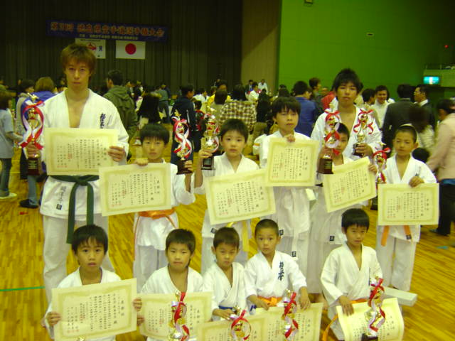 徳島県大会表彰者