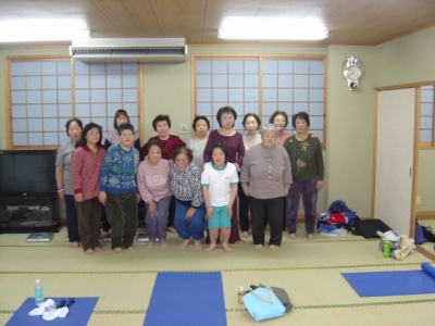 兵庫県洲本市由良健康体操