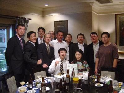 福田先輩結婚記念パーティ