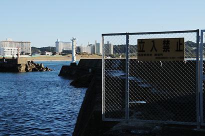 御宿港南防波堤灯台