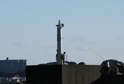 松部港南防波堤灯台