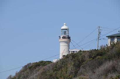 灯台が見えてきた