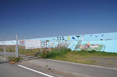 大井港岸壁