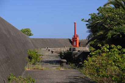 焼津港北防波堤灯台