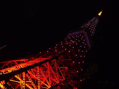 東京タワー週末照明