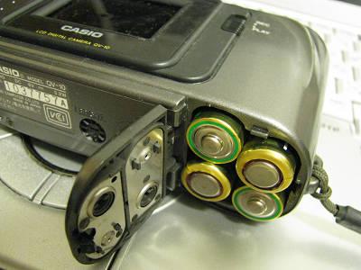 QV−10電池