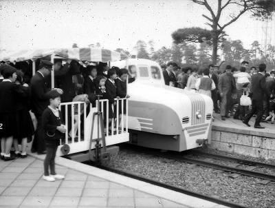 ユネスコ村おとぎ電車50年前