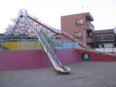 マンモス公園1桜