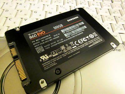 SSD500買ったよ2