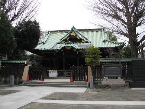 牛嶋神社の鳥居3三輪