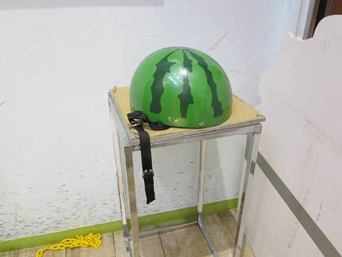 充電ヘルメット