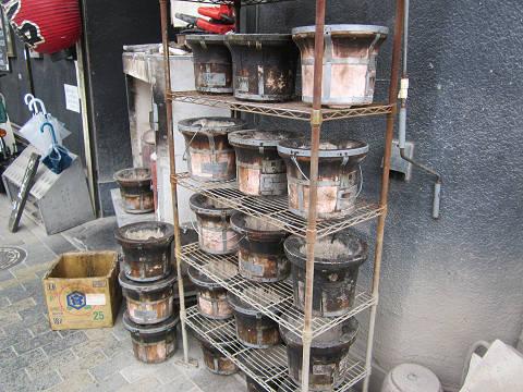 焼肉屋の七輪