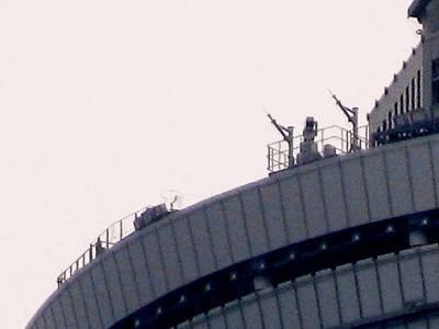 第一展望台の上
