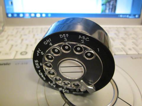 電話機のダイヤル2