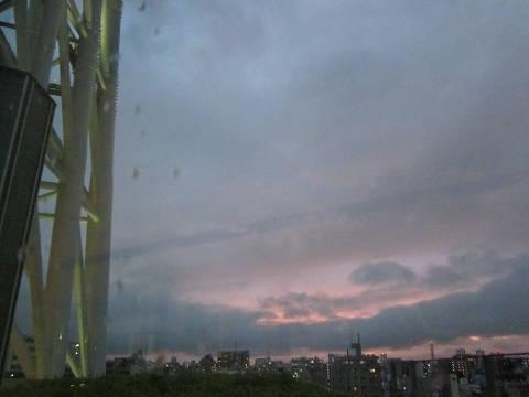 雨のスカイツリー