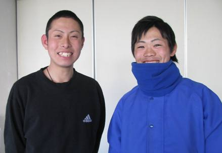 濱ちゃんと正太郎君